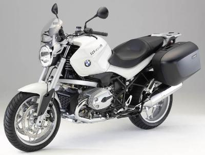 BMW R 1200 R with WP ESA 2010