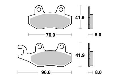 Pro Braking PBF1810-BLU-SIL Front Braided Brake Line Blue Hose /& Stainless Banjos