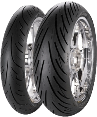 Avon, Spirit_ST, Front Tyre, 100/90 ZR18 56W , SPIRIT ST The Avon Spirit ST is a Sport Touring tyre offering riders; Excellent mileage and a more consitent performance during the life of the tyre. In