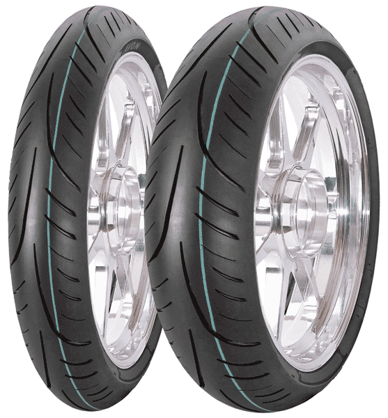 Avon, Street_Runner, Unidirectional Tyre, 100/80 -17 52S, STREETRUNNER The Avon Streetrunner is an Urban Motorcycle tyre offering riders: Good mileage returns thanks to the use of modern compounds Ex