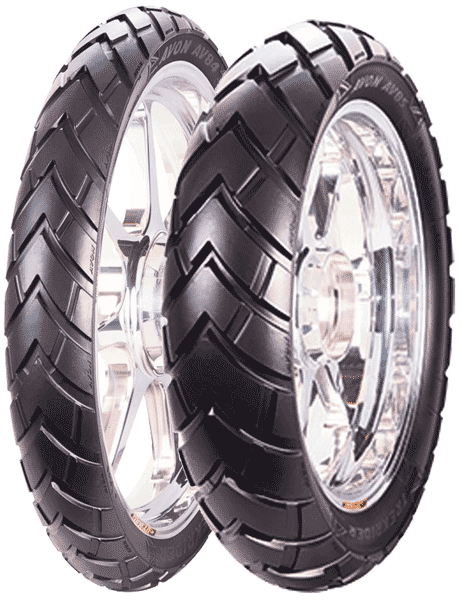 Avon, Trek_Rider AV85, Rear Tyre, 140/80 -18 70T, TREK RIDER AV85 The Avon TrekRider is an On & Off-Road tyre offering riders: Rugged tread pattern suitable for on and off-road riding