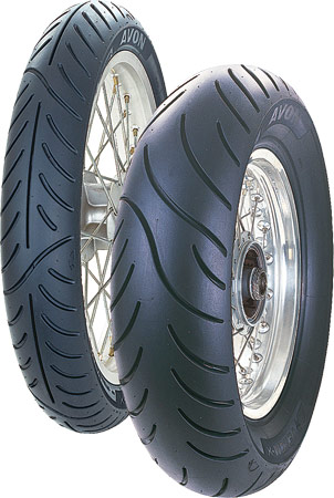 Avon, VENOM, Rear Tyre, 140/90 - 15 76H, Venom AM42 - Cruiser / Touring / Custom Low noise levels Long life thanks to low rolling resistance Excellent cornering stability Large range of sizes Reinfor