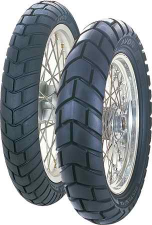 Avon, DISTANZIA - ADVENTURE, Rear Tyre, 130/80-17 65T, Distanzia AM44 Ideal for larger capacity dual sport bikes. Biased towards on-road use but also very capable on dirt tracks. 90% Road, 10% off Ro