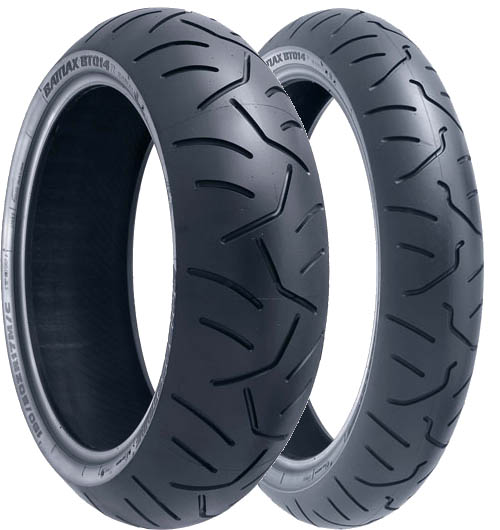 Bridgestone, BT-014 J, Front Tyre, 120/65 ZR17 M/C W, Battlax BT-014 Supersport ZX6R / RR Incorporating technologies derived from Bridgestone's MotoGP participation, the Battlax BT-014 radial series