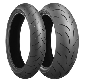 Bridgestone, BT-015 E, Front Tyre, 120/70 ZR17 M/C 58W , Battlax BT-015 Sport OE CBR600RR 07 High performance sport radial tires specifically designed and tested for these models The letter code in s