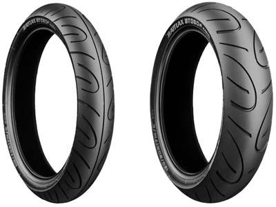 Bridgestone, BT-090 G, Front Tyre, 110/70 R17 M/C 54H, Battlax BT-090 Pro Super Sport / Production Racing Yamaha WR250X 08 The BT-090 is for middle-size bikes. Refined by using the latest technologie