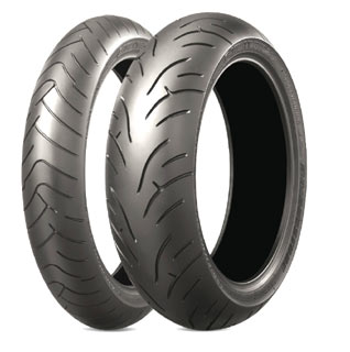 Bridgestone, BT-023, Front Tyre, 120/60 ZR17 M/C 55W , Battlax BT-23 - Sport Touring Battlax BT-23 Sport Touring New for 2010
