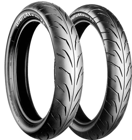 Bridgestone, BT39SS, Front Tyre, 80/90-17 M/C 44S, Battlax BT39SS Super sport / Production racing CBR125R 04on The Battlax BT-39SS is for production racing for motorcycles within the 50cc to 125cc cl