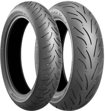 Bridgestone, Battlax_SC_Ecopia, Front Tyre, 120/70 R15 56H, Battlax_SC_Ecopia Battlax SC Ecopia Tire for big scooters that contributes to high fuel economy Optimized the compound, tire shape and tire