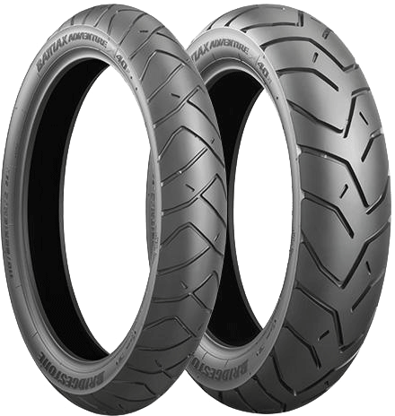 Bridgestone, A40, Front Tyre, 110/80 R19 59V, Battlax Adventure A40 Battlax Adventure A40 Has been developed by bridgestone so that it improved utility performance in an adventure tire. Wet grip, wea