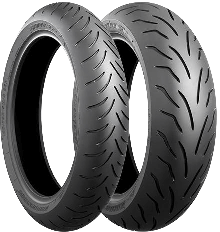 Bridgestone, Battlax_SC E, Front Tyre, 120/70 R15 56H, Battlax Scotter E E BATTLAX SC Radial Battlax SC is a brand of sport radial for high performance scooters tyres They have improvement in handlin
