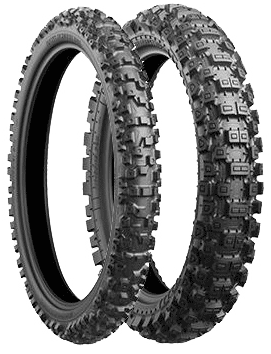 Bridgestone, BattleCross_X40, Rear Tyre, 110/90 -19, X40 NHS This high performance tire was developed on race and has further evolved in performance