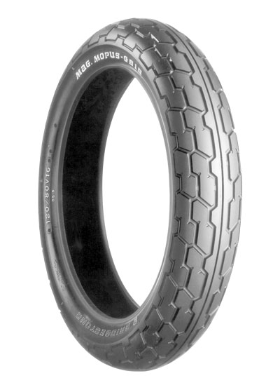 Bridgestone, G515, Front Tyre, 110/80-19 M/C 59S, EXEDRA BIAS PLY Original equipment tyres VT750DC Designed primarily for Japanese cruisers, the Exedra G series provides good mileage, improved stabil