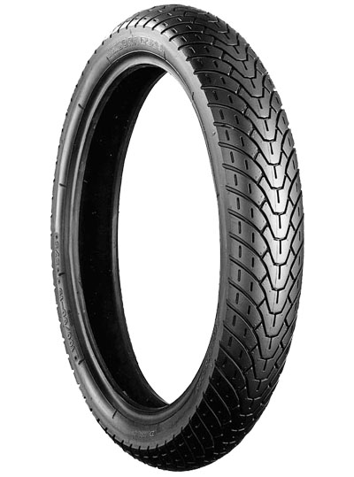 Bridgestone, G523, Front Tyre, 100/90-19 M/C 57S, EXEDRA BIAS PLY Original equipment tyres EN500A/B CROSSPLY ORIGINAL EQUIPMENT The Exedra range of tyres are original equipment or approved fitment op