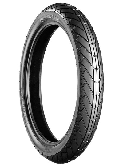Bridgestone, G525, Front Tyre, 110/90-18 M/C 61V, EXEDRA BIAS PLY Original equipment tyres V-Max CROSSPLY ORIGINAL EQUIPMENT The Exedra range of tyres are original equipment or approved fitment optio
