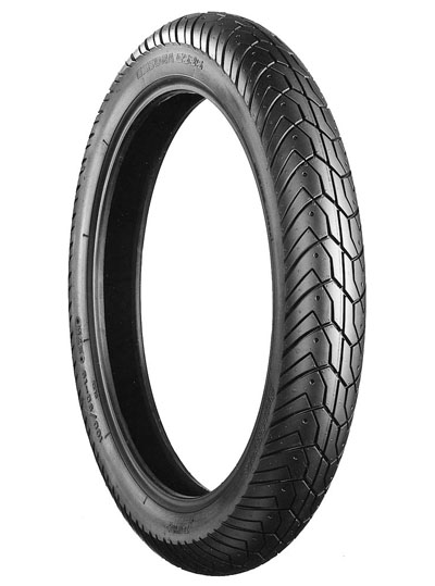 Bridgestone, G535, Front Tyre, 100/90-19 M/C 57H, EXEDRA BIAS PLY Original equipment tyres XV750 / XV1100 CROSSPLY ORIGINAL EQUIPMENT The Exedra range of tyres are original equipment or approved fitm
