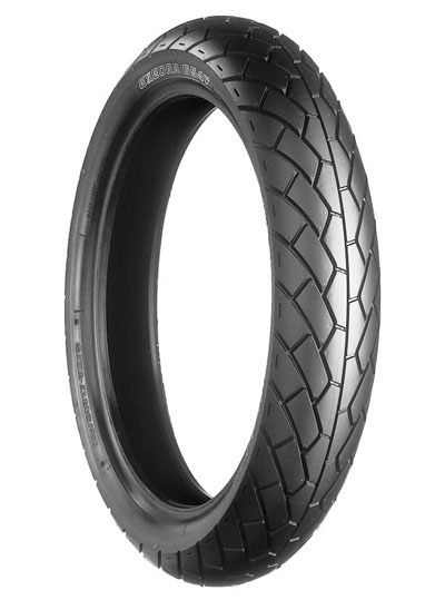 Bridgestone, G547, Front Tyre, 110/80-18 M/C 58V, EXEDRA BIAS PLY Original equipment tyres ST1100 Standard The bias-ply G547/548 combination is popular original equipment tyres on numerous motorcycle