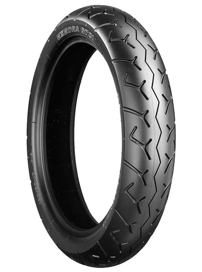 Bridgestone, G701 F6C Valkyrie , Front Tyre, 150/80 R17 M/C 72H, EXEDRA RADIAL Original equipment tyres F6C Valkyrie Designed primarily for American-type motorcycles, the Exedra 700 series provides l