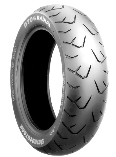 Bridgestone, G704 GL1800 , Rear Tyre, 180/60 R16 M/C 74H, EXEDRA RADIAL Original equipment tyres GL1800 They are Original Equipment on Honda GL1800 Goldwing. Specifically constructed for today's Amer