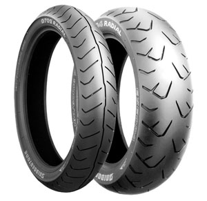 Bridgestone, G709 GL1800 , Front Tyre, 130/70 R18 M/C 63 H, EXEDRA RADIAL Original equipment tyres GL1800 They are Original Equipment on Honda GL1800 Goldwing. Specifically constructed for today's Am