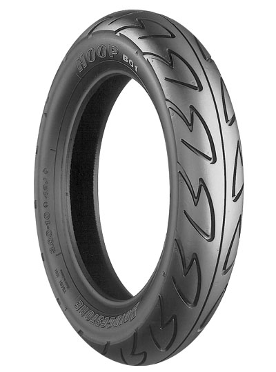 Bridgestone, B01 Hoop, Front Tyre, 90/90-12 44J, Scooter Tyres UG110 Hokuto Both Front and Rear This high quality replacement tyre is very affordable. The Hoop H01 is the all round street use scooter