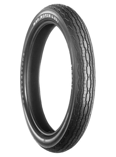 Bridgestone, L301, Front Tyre, 3.00-17 45P 4PR, EXEDRA BIAS PLY Original equipment tyres SR125 The L series front tires are original equipment on a large number of current and late model Japanese mot