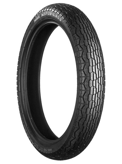 Bridgestone, L303, Front Tyre, 3.00-18 47P 4PR, EXEDRA BIAS PLY Original equipment tyres The L series front tyres are Original Equipment on a large number of current and late model Japanese motorcycl