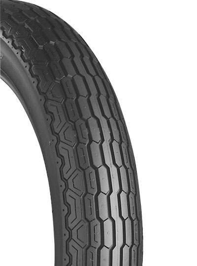 Bridgestone, L307, Front Tyre, 80/90-21 M/C 48H, EXEDRA BIAS PLY Original equipment tyres VN800 ,VS750 / VS800 The L series front tyres are Original Equipment on a large number of current and late mo