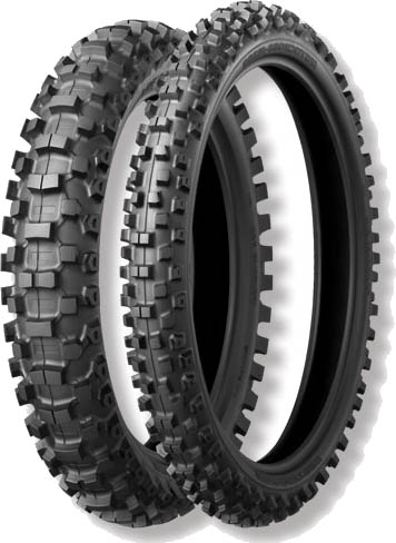 Bridgestone, M204, Rear Tyre, 110/90-19 62M NHS, Motocross tyres soft to medium ground M203 front has a new tire design technology for broad range of soft & Intermediate terrain applications. M203 fr