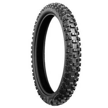 Bridgestone, M403, Front Tyre, 60/100-12 33M NHS, Motocross tyres medium ground Derived from MX/SX racing technologies, the M403 covers a wide range of soils as well as ultimate performance on medium