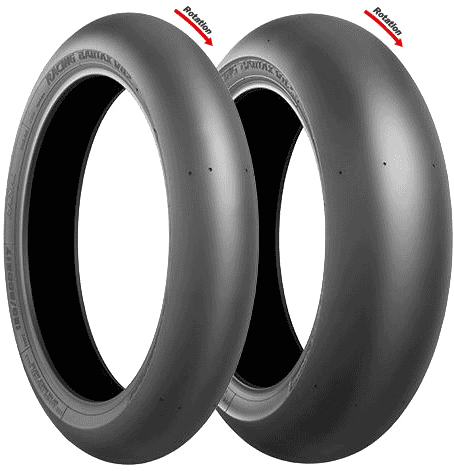 Bridgestone, V02_Slick Medium, Front Tyre, 90/580 R17, V02_Slick V02_Slick Medium Not for use on public roads. Bridgestone flag ship model Racing Battlax V02 with gripping strength and a long wear li