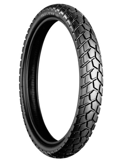 Bridgestone, TW101 E, Front Tyre, 100/90 -19 57H, Trail wing On / Off road Experience the heavy-duty adventure City and off-road riders Enjoy riding freely on both streets and dirt, with Trail Wing's