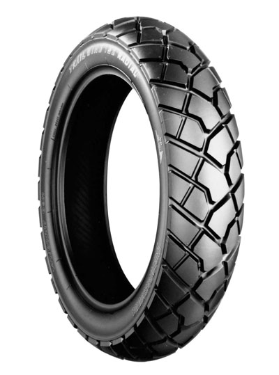 Bridgestone, TW152 M, Rear Tyre, 160/60 R15 65H, Trail wing On / Off road Experience the heavy-duty adventure City and off-road riders Enjoy riding freely on both streets and dirt, with Trail Wing's