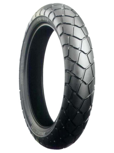 Bridgestone, TW203, Front Tyre, 130/80-18 M/C 66P, Trail wing On / Off road TW125 On- & off-road tires especially developed for Yamaha TW125