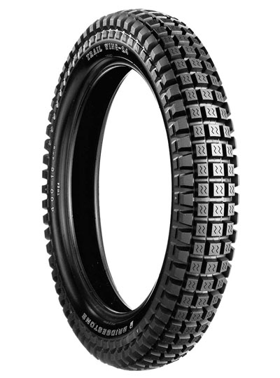 Bridgestone, TW24, Rear Tyre, 4.00-18 64P 4PR, Trail wing On / Off road Experience the heavy-duty adventure City and off-road riders Enjoy riding freely on both streets and dirt, with Trail Wing's ov