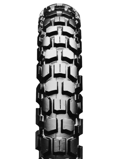 Bridgestone, TW301, Front Tyre, 2.75 -21 45P, Trail wing On / Off road Experience the heavy-duty adventure City and off-road riders Enjoy riding freely on both streets and dirt, with Trail Wing's ove