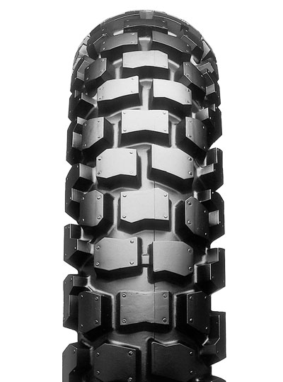 Bridgestone, TW302, Rear Tyre, 4.60-17 62P, Trail wing On / Off road Experience the heavy-duty adventure City and off-road riders Enjoy riding freely on both streets and dirt, with Trail Wing's overa