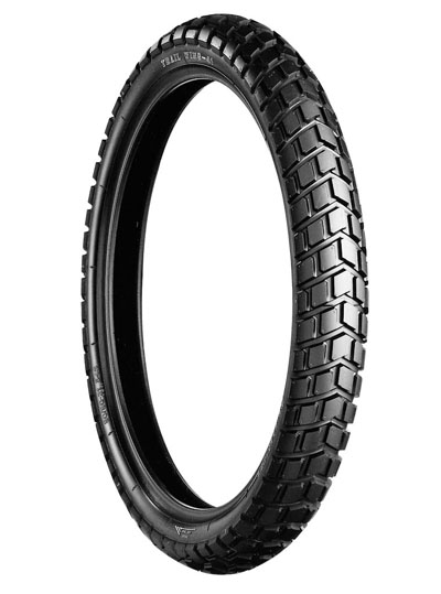 Bridgestone, TW41, Front Tyre, 80/100-21 M/C 51P, Trail wing On / Off road DR-Z400S Experience the heavy-duty adventure City and off-road riders Enjoy riding freely on both streets and dirt, with Tra