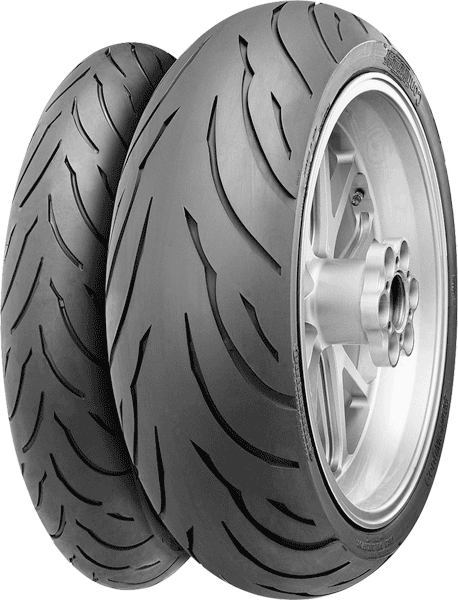 Continental, ContiMotion, Front Tyre, 120/70 ZR17 M/C 58W, Contimotion - sporttouring New premium brand all-season Sport Touring radial for the price conscious rider. • Brand new concept radial for t