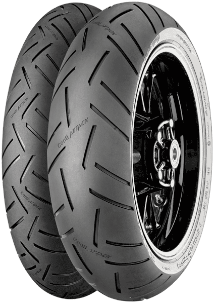 Continental, Sport_Attack_3, Front Tyre, 110/70 ZR17 54W, Sport_Attack_3 Continental Sport Attack 3 The brand new Continental GripLimitFeedback technology for 2017 makes it easier to make judgments w