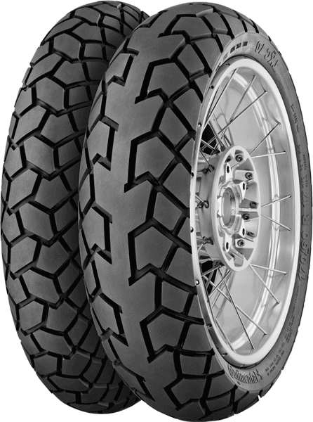 Continental, TKC70, Rear Tyre, 120/90 -17 64T TL, TKC70 The Continental TKC70 combines the best of the TK80 off-road tire and ContiTrailAttack 2 on-road Adventure tire. This is a Continental tyre wit