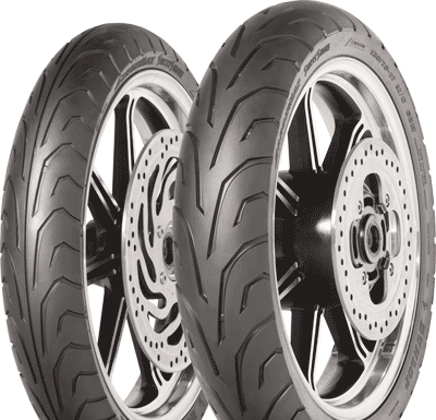 Dunlop, Arrowmax_StreetSmart, Front Tyre, 110/90 -16 59V, Arrowmax StreetSmart Arrowmax StreetSmart a Dunlop sport & touring tyre Sport touring bias tyre with modern technology for classic bikes. Ide