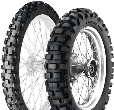 Dunlop, Adventure_Trails_D606, Rear Tyre, 120/90 -18 65R, D606 D606 Adventure and Trails The 10% road and 90% off-road tyre. Dunlops D606 is a tough trail tyre with real off-roading capabilities. Rec