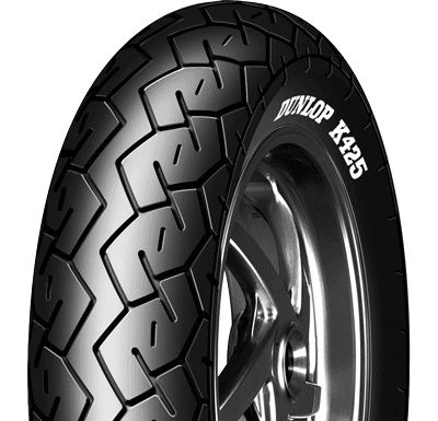 Dunlop, K425, Rear Tyre, 160/80 -15 74V, K425 K425 Dunlop Custom Tyre The K425 is a diagonal tyre designed to perform well on mid-range cruiser motorcycles. OE Cruiser tyre for ZL900 & ZL1000 Elimina