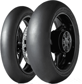 Dunlop, KR106_-_KR108, Front Tyre, 120/70 R17, KR106 MS3 343 KR106 & KR108 are Dunlop Slick Racing tyres. Innovative NTEC system which allows the rider to lower tyre pressures for maximum grip on the