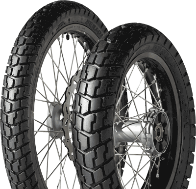 Dunlop, Trailmax, Rear Tyre, 120/90 -17 64S, Trailmax Trailmax Advebture and Trail The essential tyre for single cylinder and mid-size twin cylinder trail bikes. Aggressive, high-contact, directional