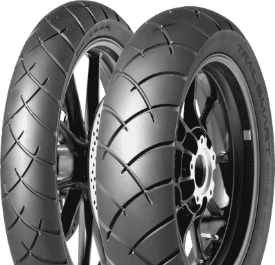 Dunlop, Trailsmart, Rear Tyre, 120/90 -17 64S, Trailsmart Trailsmart a Dunlop Adventure & Trail tyre. The adventure tyre that takes you wherever the road takes you. Revised tread pattern for improved