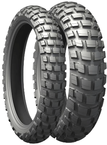 Michelin, Anakee_Wild, Rear Tyre, 130/80 -17 65R TL, Anakee_Wild Michelin Anakee Wild Enduro, Trail tyres Are long-lasting, durable and provide comfort for an exceptional riding experience. Stability