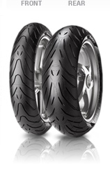 Pirelli, Angel ST, Front Tyre, 120/70 ZR17 M/C 58W, Angel ST A GTR 1400 • New generation of sport touring compound: maximum safety feeling on wet / cold conditions without compromising dry grip • Inn