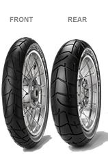 Pirelli, Scorpion Trail, Front Tyre, 120/70 ZR17 M/C 58W, Scorpion Trail Innovative tread design: a long pitch design allows to embed in one tyre different section to perform on road as well as off r